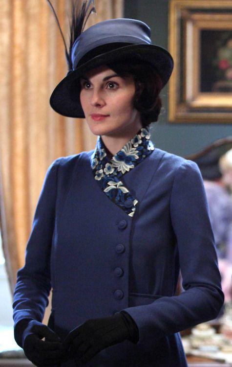 Mary Crawley~don't you just love the way she dresses!!