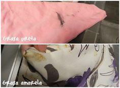 Como tirar graxa de roupa | Blog de casa - DONA PERFEITINHA