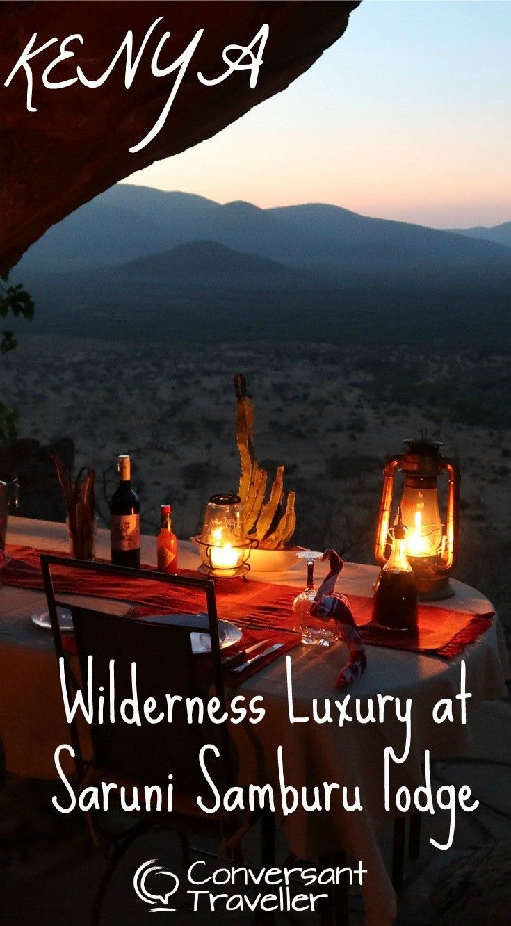 Wilderness luxury at Saruni Samburu lodge in northern Kenya. Saruni Samburu is a remote luxury lodge nestled in the heart of the spectacular Kalama Wildlife Conservancy, just a few kilometers from the Samburu National Reserve. Perched on a hillside, Saruni Samburu is the only lodge in 200,000 acres of pristine wilderness, with 6 eco-chic villas overlooking the magnificent African plains.