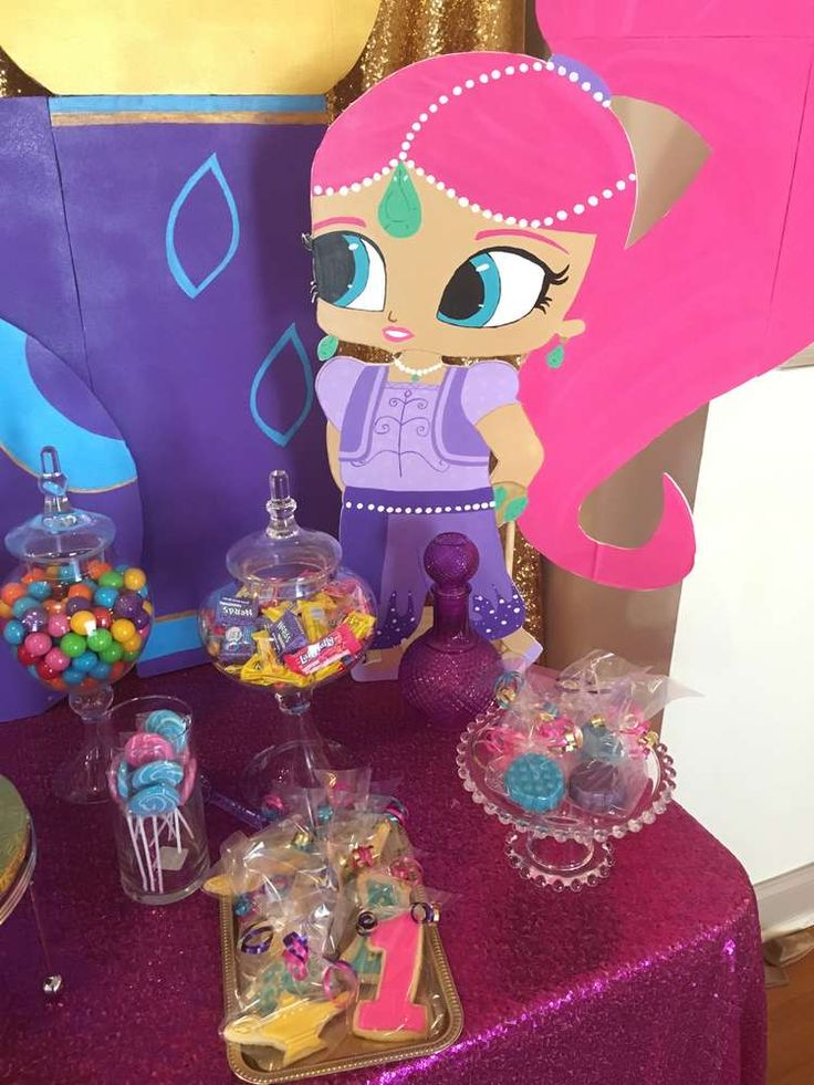 1000 images about shimmer and shine party on pinterest for Shimmer and shine craft ideas