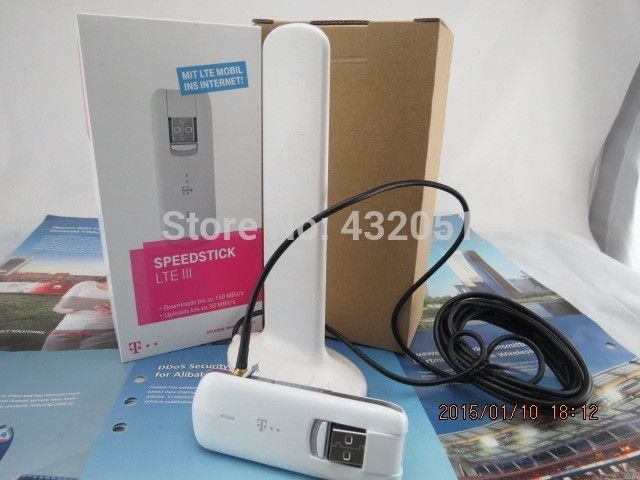 NEW Unlocked Huawei E3276 LTE 4G 3G modem USB stick (E392 E398 K5005 K5007) +a pc free TS-9 antenna #Affiliate