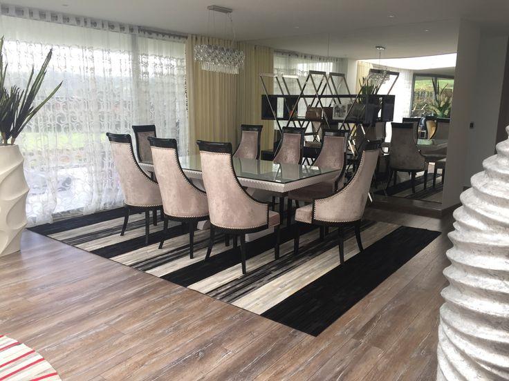 Tapete Indicus - Rug Indicus Patchwork Leather rug Cuero