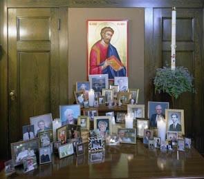 A Lovely Idea For All Saints Sunday.