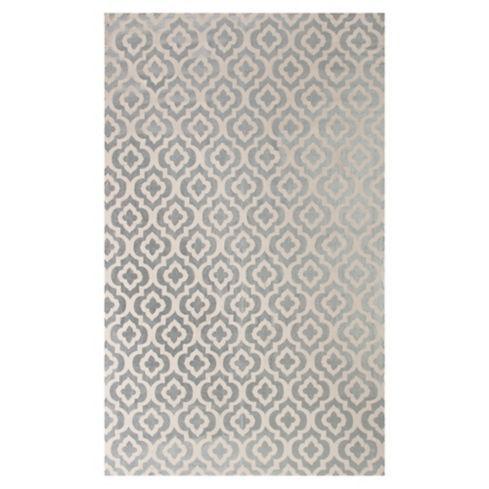 Alfombra Victoria plata 150x240 cm