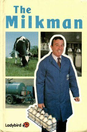 THE MILKMAN Ladybird Book First Edition Gloss 1987