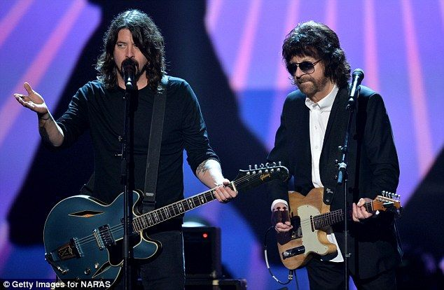 From me to you: Dave Grohl and Jeff Lynne were among the rockers duetting  50 Years of the Beatles!