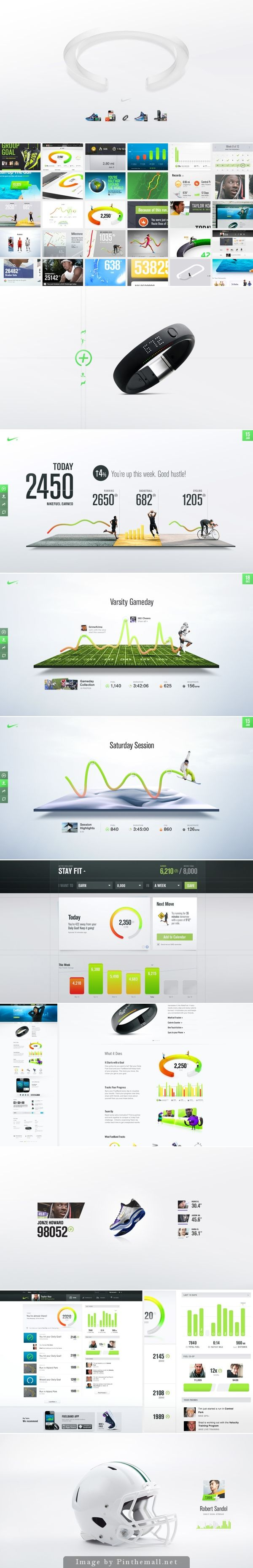 #nike #mobile #design #digital