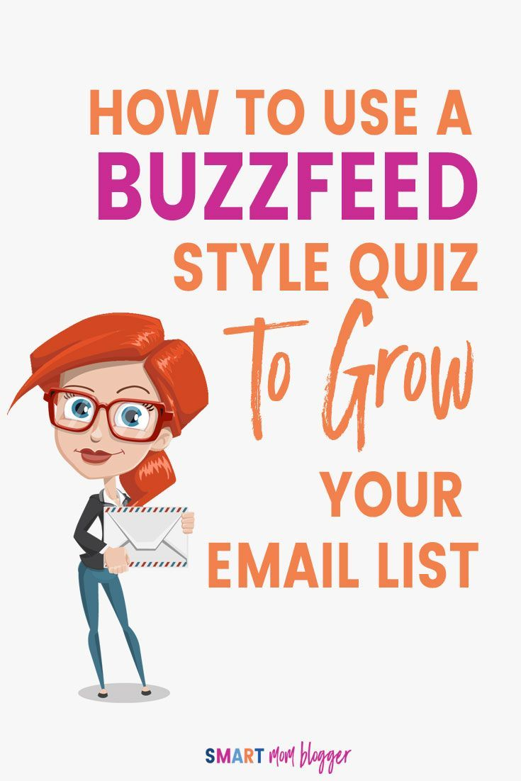 """Cool article that shows how to set up a fun quiz to grow your email list like crazy. Looks like way more fun than creating """"freebies"""". Click to read now or Pin for later!"""