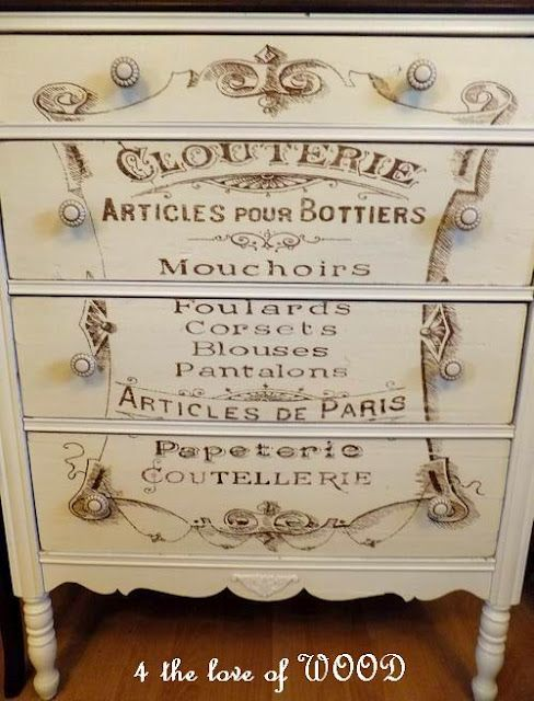 french dressing chest really cool blog - This is soooo pretty! I love it.