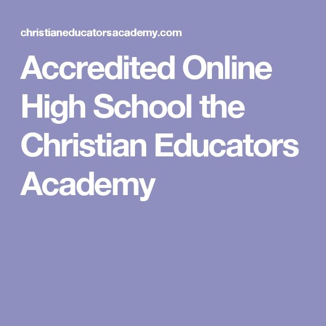 Online high school options