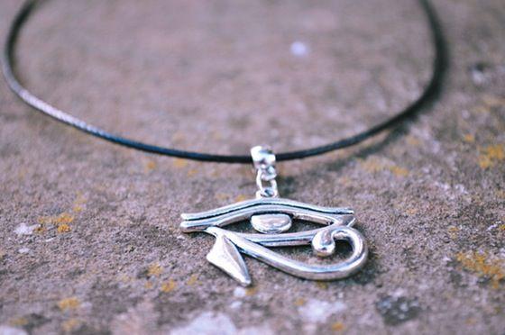 Image of Eye of Heru Necklace Style 1