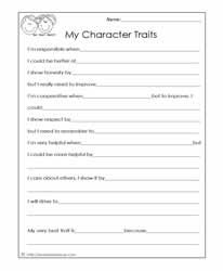 Printables Character Building Worksheets 1000 images about character building worksheets on pinterest all my traits worksheet being honest reliable responsible inclusionary