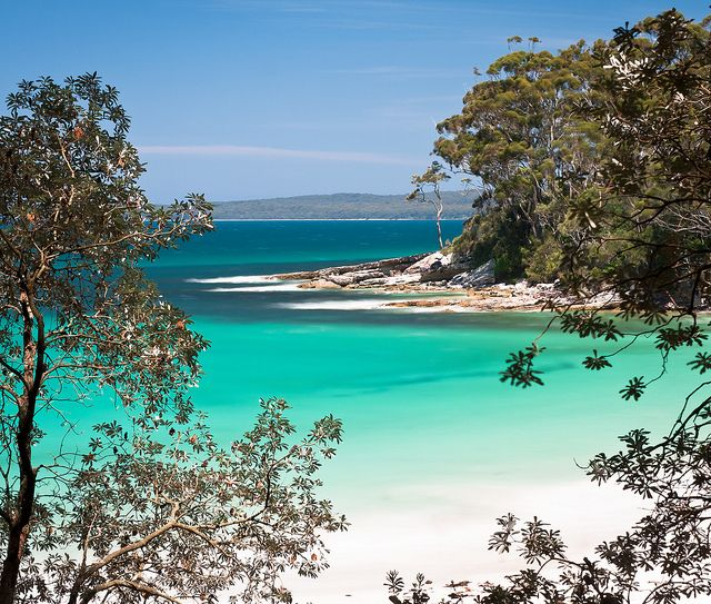 Camping at Jervis Bay Australia...just the whitest sand
