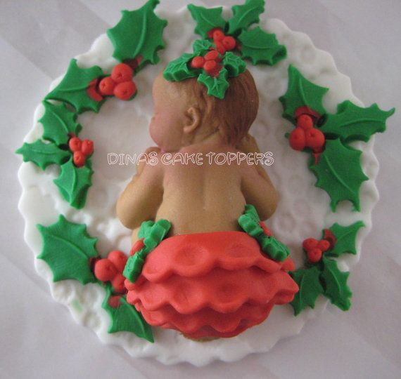Baby Shower Mouse Cake Topper favors par DinasCakeToppers sur Etsy