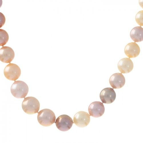 Shaded pink strand of freshwater pearls. #Rutherford #Melbourne