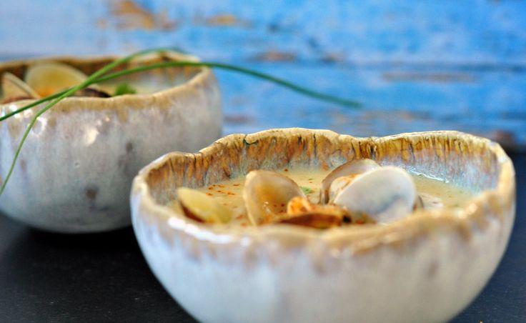 Les 25 meilleures id es de la cat gorie soupe aux for Cuisiner des palourdes