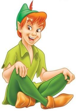 Peter Pan (Fool, reversed) http://www.janetboyer.com/Tarot-in-Reverse.html