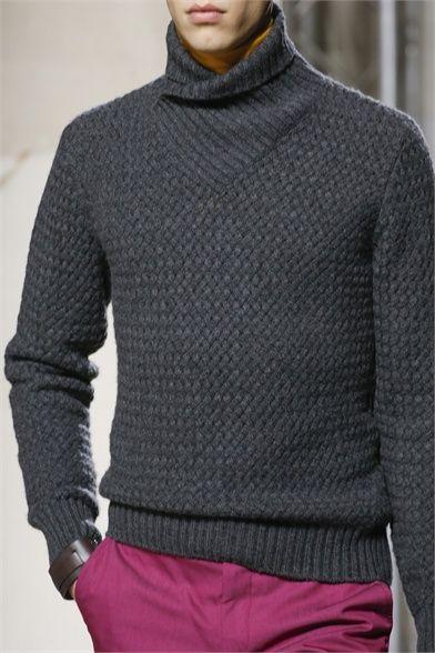 Farb-und Stilberatung mit www.farben-reich.com - Hermès - Men Fashion Fall Winter 2013-14 - Shows - Vogue.it