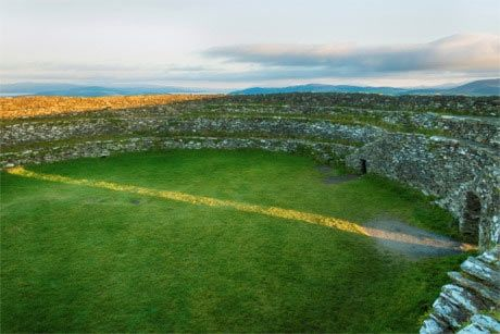 Grianan of Aileach on the equinox