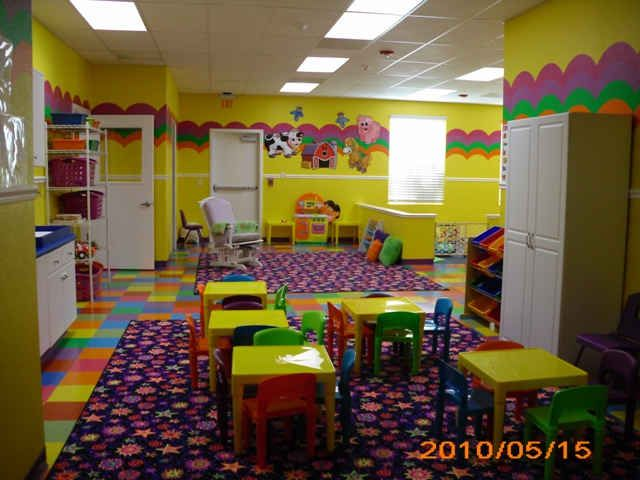 daycare rooms - Designing A Home Preschool Room
