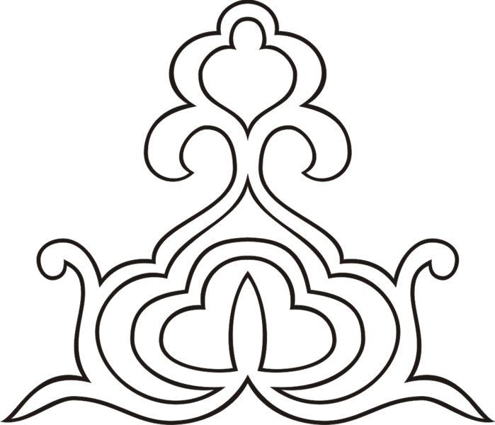 татарский орнамент png