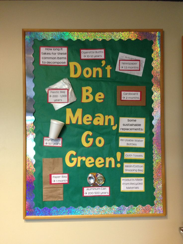 Don T Be Mean Go Green Sustainable Living Info