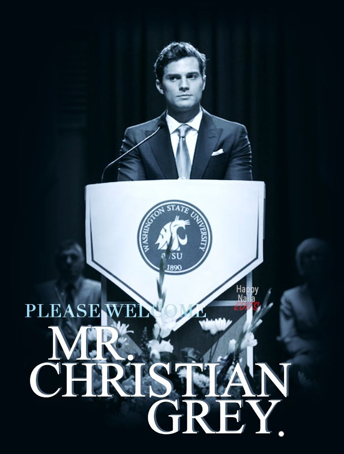 Please welcome, Mr. Christian Grey #FiftyShades http://www.pinterest.com/lilyslibrary/