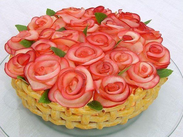 Cake «a Million red roses»