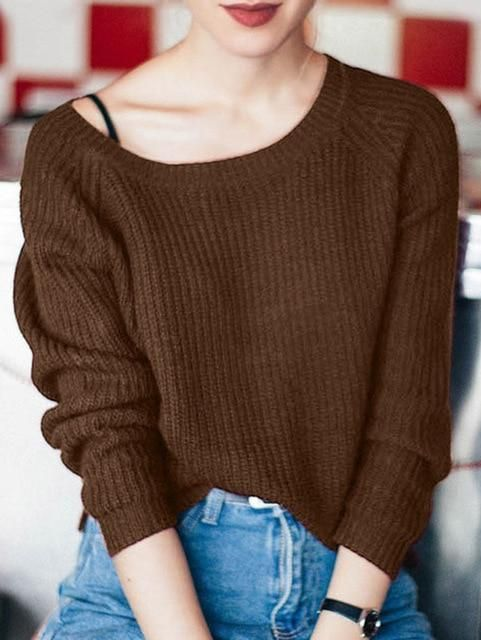 5d4c98b88465ec Everyday Sweater Loose Sweater