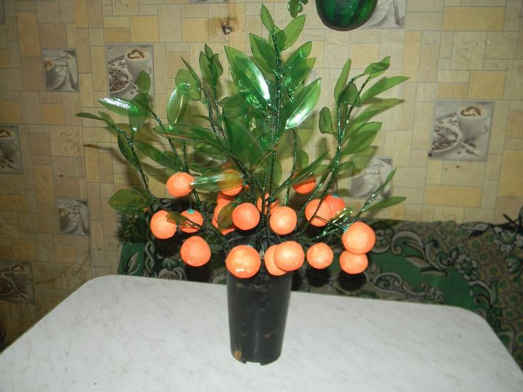 мандариновые веточки своими руками,мастер класс,мк,мандарины своими руками,мандарин из пенопласта,мандариновое дерево,новогодний декор,из мандаринов,украшение интерьера,мандариновая ветвь,мандариновые ветви из пластиковых бутылок