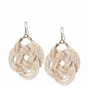 Tinley Road Seed Beed Knot Earrings