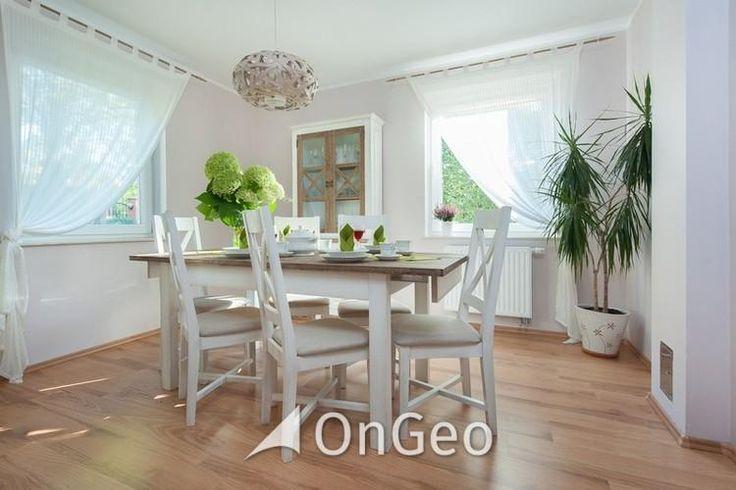 Dom na sprzedaż #domnasprzedaz #ongeo #wnętrza #jadalnia #białewnętrza