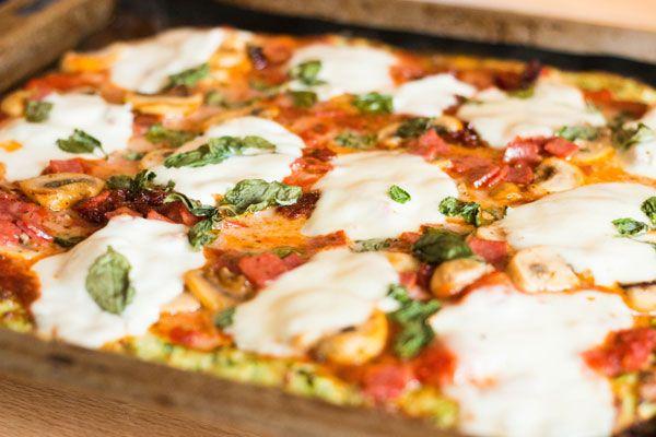 Recept: Pizza met courgette bodem