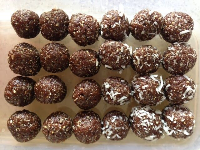 Simply Thermomix Blog: Chocolate Protein Balls in the Thermomix