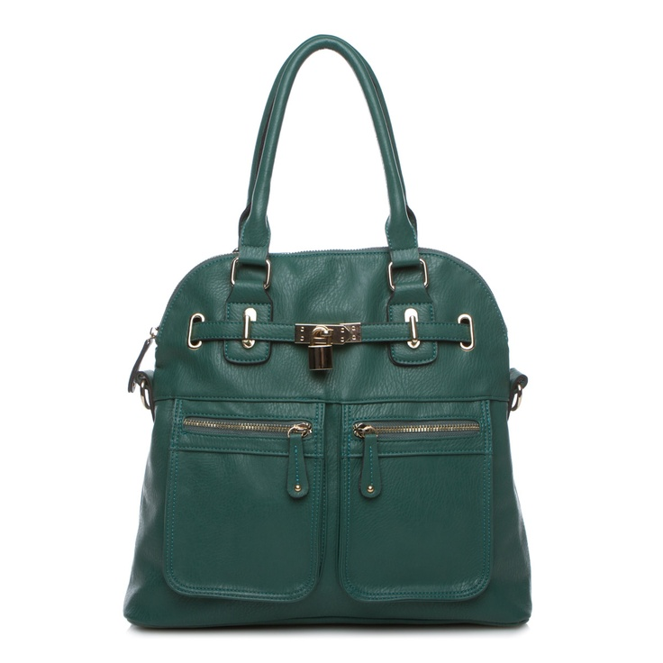 Forest Green: Color, Green Satchel, Blue Green, Green Purses, Cool Bags, Forests Green Lov, Bags Clutches, Work Bags, Green Bags
