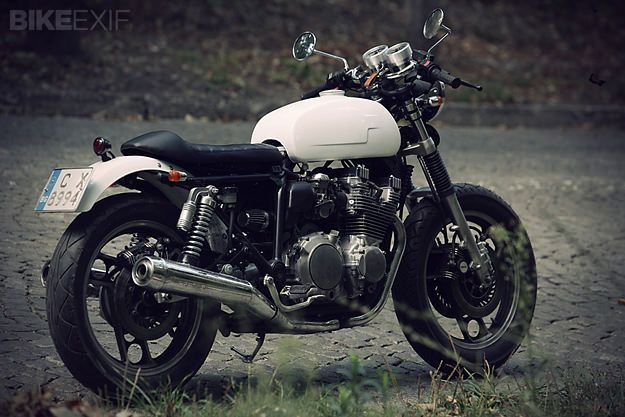Working in a small garage with a minimal collection of tools, Dimitar Kostadinov of Sofia, Bulgaria, produced this breath of fresh air. Based on a 1984 Yamaha XJ900, even Dimitar's choice of machine defies convention. Now 42, the builder says he's been interested in motorcycles… Read more »