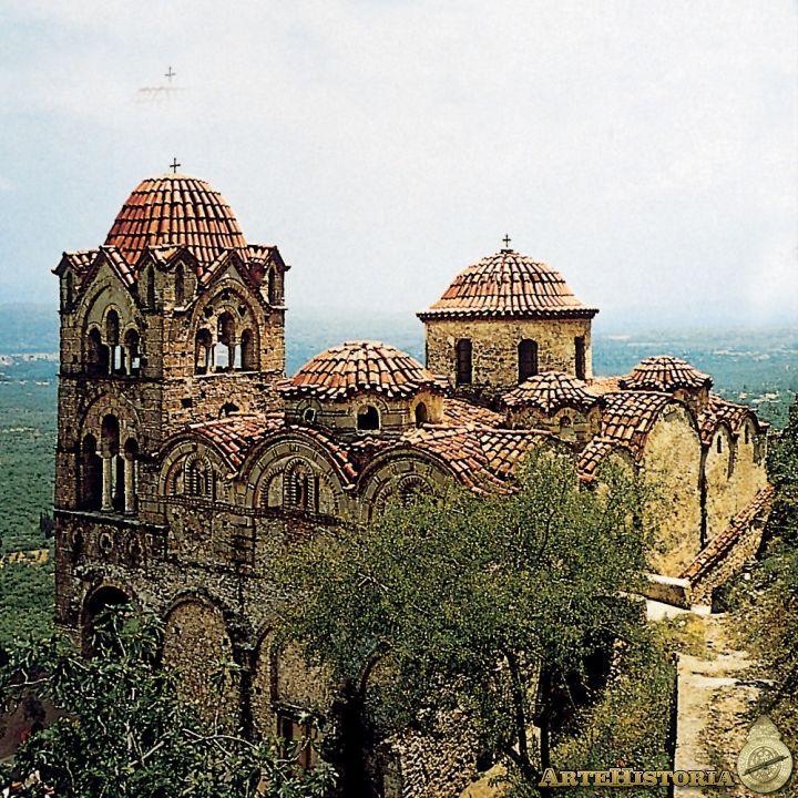 Iglesia de Hodegetria de Mistra, Grécia. h.1310. -Tercera Edad de Oro Bizantina. -21