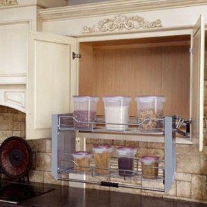 Les 25 meilleures id es de la cat gorie hauteur meuble for Etagere escamotable cuisine
