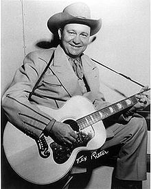 Tex Ritter - Born in Murvaul, Texas. American country music singer and movie actor popular from the mid-1930s into the 1960s, and the patriarch of the Ritter family in acting (son John [Three's Company] and grandson Jason[The Event]). He is a member of the Country Music Hall of Fame.