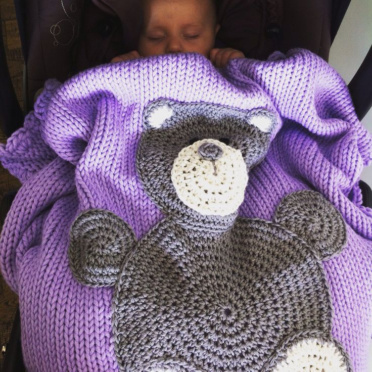 Baby blanket with Teddy