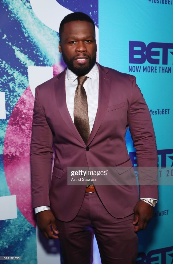 Rapper 50 Cent attends the 2017 BET Upfront NY at PlayStation Theater on April 27, 2017 in New York City.