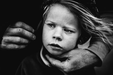 """HONORABLE MENTION IN THE LIFESTYLE CATEGORY - """"In her father's hands"""" by Niki Boon, New Zealand"""