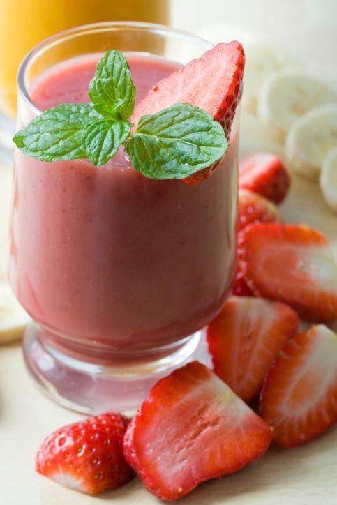 Strawberry Kale #Smoothie