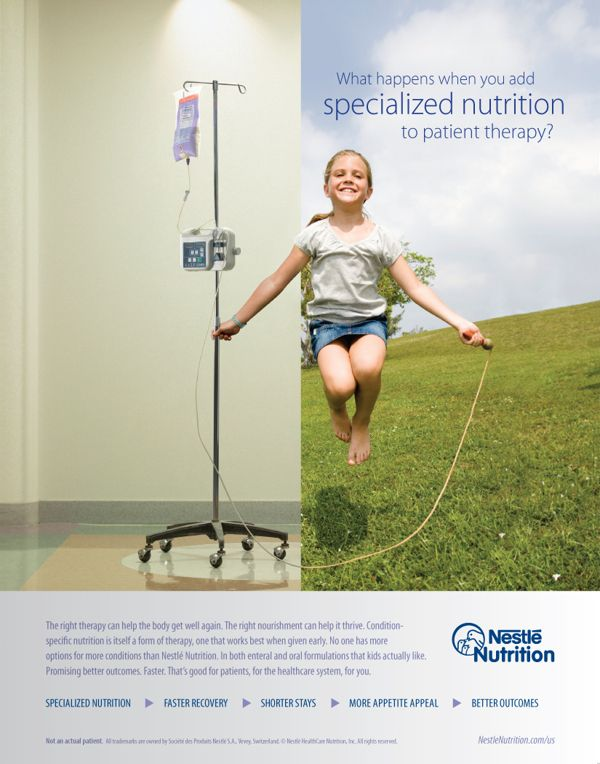 "Nestlé Nutrition (U.S.) – ""The Power of Nutrition"" by Chris Paleczny, via Behance"