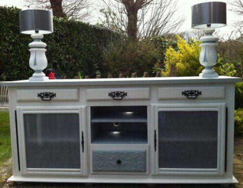 17 meilleures images propos de buffet ancien relook sur pinterest vintage armoires et blog. Black Bedroom Furniture Sets. Home Design Ideas