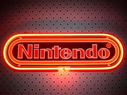 New Nintendo Neon Light Arcade Game Room Club Home Bar Display Sign Gift 329R | eBay