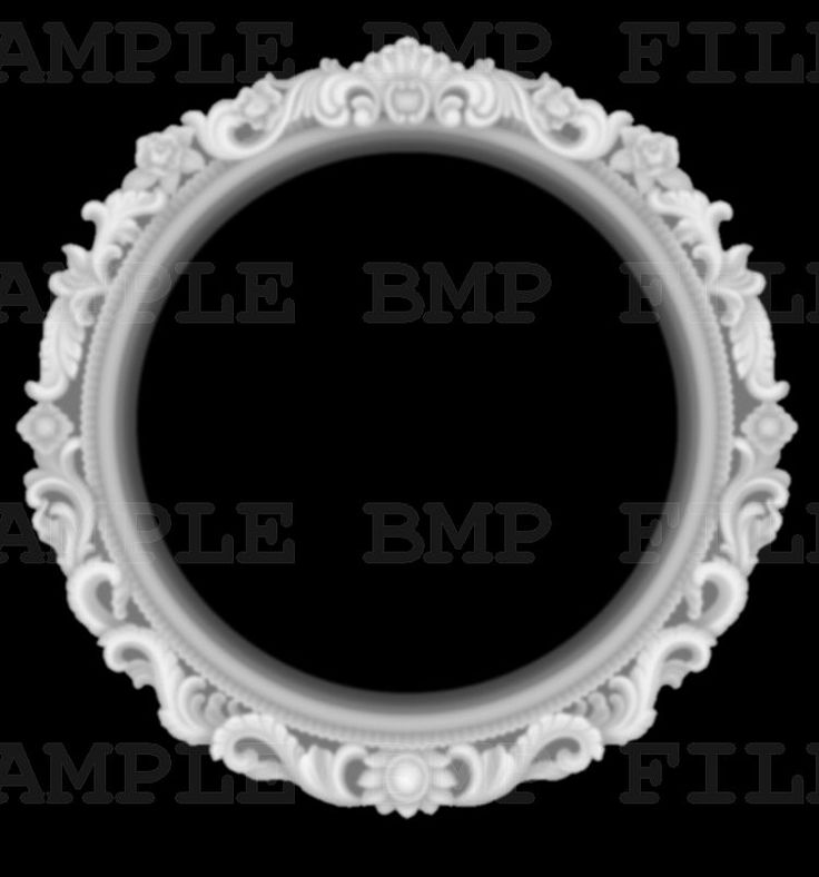Frame 3d model for cnc in BMP file format Picture STL_1548_bmp