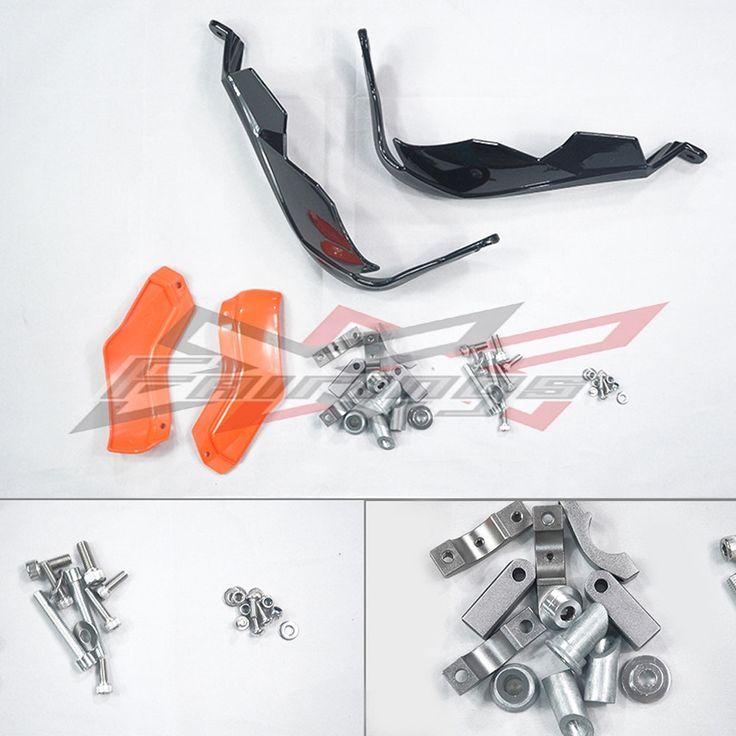 (64.40$)  Buy here - http://aiktn.worlditems.win/all/product.php?id=32787929007 - Orange & Black Pro Handguards Brake Clutch Hand Guard For KTM 125 200 Duke