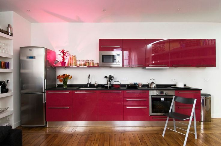 puple granite kitchen