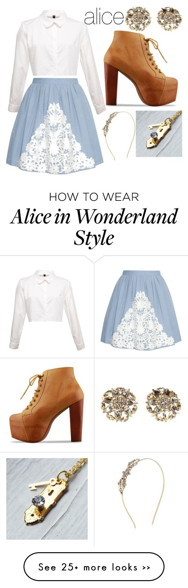 """alice"" by danayd on Polyvore featuring Boutique Moschino, Accessorize and Alice Joseph Vintage"